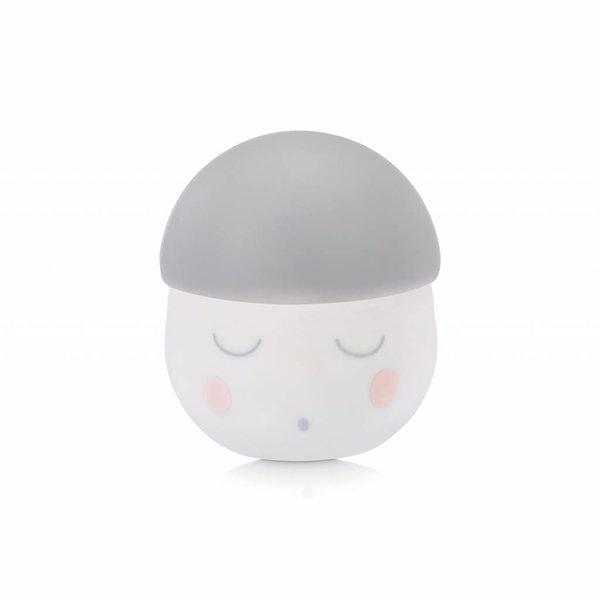 Babymoov Nachtlamp Squeezy A015026 Wit/Grijs - 13 x 13 x 12 cm