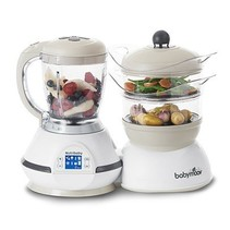 Keukenrobot Nutribaby Classic A001115 Wit - 5 Functies
