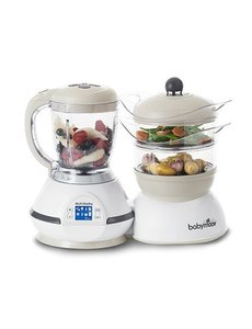 Babymoov Robot de Cuisine Nutribaby Classic A001115  Blanc - 5 Fonctions