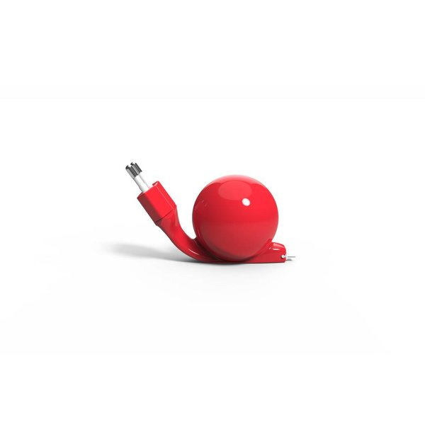 Charger Android (micro USB) 80 cm Red