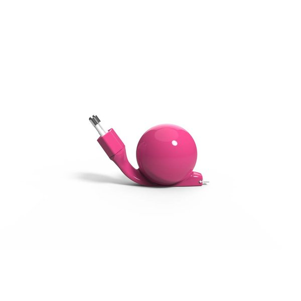 Charger Android (micro USB) 80 cm Pink