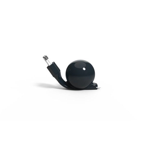 Charger Android (micro USB) 80 cm Black