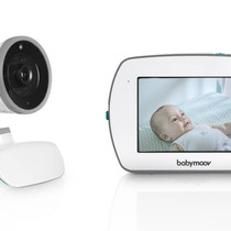 Baby Monitor + Video YOO-Feel  A014420 White - Talk Back Function