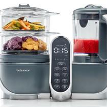 Keukenrobot Nutribaby+ Loft A001124 Grijs - 5 Functies