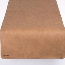 Tafelloper Vintage Beige/Donker Bruin  K08/K10 - 45x120cm