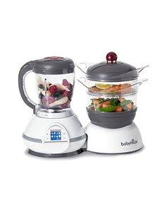 Babymoov Robot de cuisine Nutribaby Classic A001114 Cerise rouge - 5 Fonctions