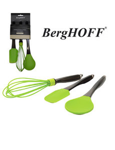 BergHOFF 3-part kitchen aid lime green