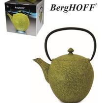 Cast iron teapot 1L yellow