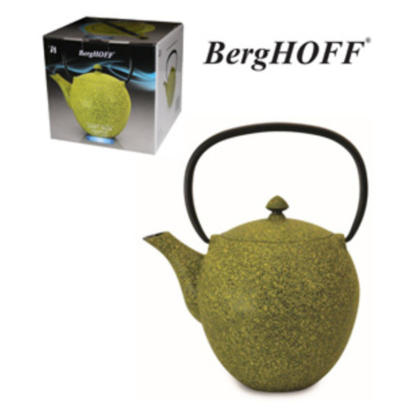 BergHOFF Gietijzeren theepot 1L geel
