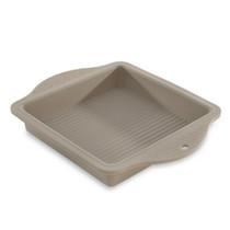 Siliconen vierkante cakevorm 28.5x22.5xH.4cm Beige