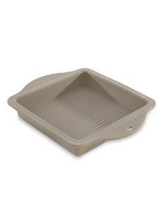 BergHOFF Moule à gâteau carré en silicone 28.5x22.5xH.4cm Beige