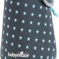 Flessenverwarmer  Grijs/Blauw  A002102 - 13x13x29cm