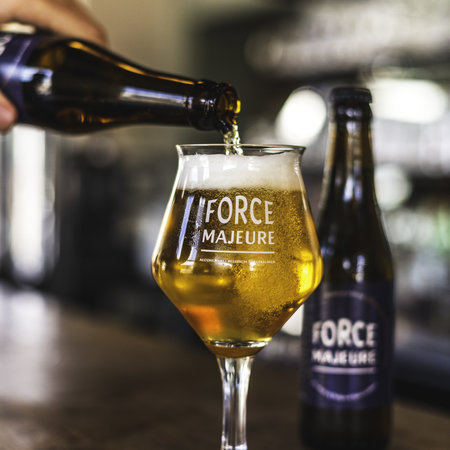 Force Majeure 24 x Force Majeure Traditional Blond  33cl  Alcholvrij speciaalbier