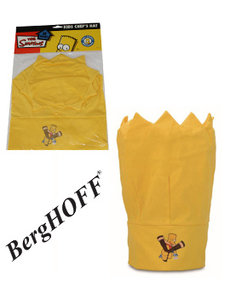 "BergHOFF Children's chef's hat yellow ""The Simpsons"""