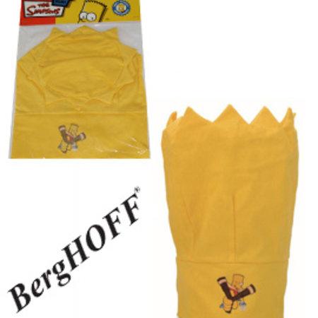 "BergHOFF Children's chef's hat yellow ""The Simpsons"""