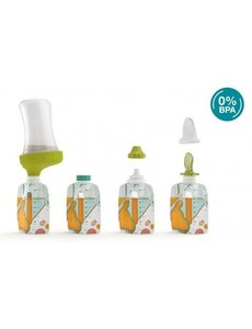 Babymoov Starter Kit Foodii™ met herbruikbare zakjes