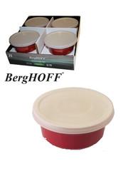 BergHOFF Plats de four rondes rouges D.14.5xH.6.5cm (8x)