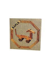 Kapla Kapla, book no. 4 brown, cheerful and simple. animals