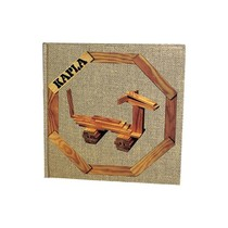 Kapla, book no. 4 brown, cheerful and simple. animals