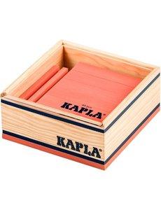 Kapla Kapla, 40 étagères de rose colorée
