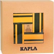 Kapla, boekje + 40 gele en groene plankjes