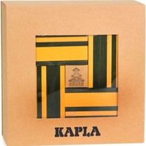 Kapla, booklet + 40 yellow and green boards