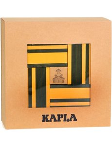 Kapla Kapla, booklet + 40 yellow and green boards