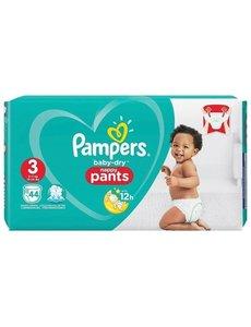 Pampers PAMPERS BABY DRY NAPPY PANTS SIZE 3 44 stuks (EN;FR;DE;NL)