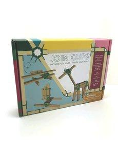 Van Dijk Join Clips pour blocs en bois 'Kapla' 400 clips + 80 blocs
