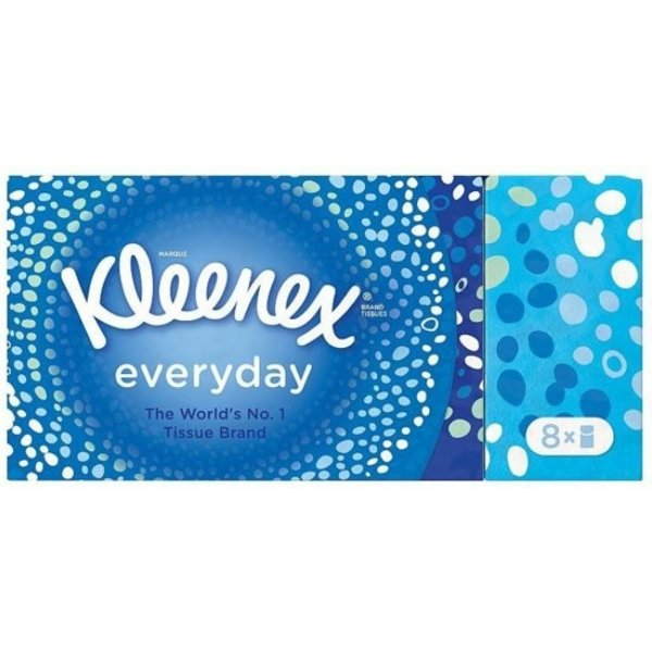 Kleenex Kleenex Handkerchiefs - Everyday 8 pack