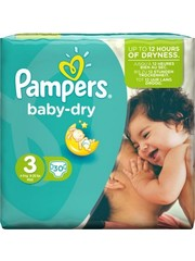 Pampers Pampers Diapers - Active Baby Dry - 15 pieces - Size 3