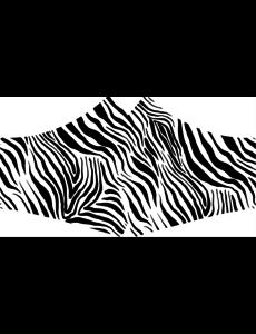 SANS Comfort mask Zebra with elastics