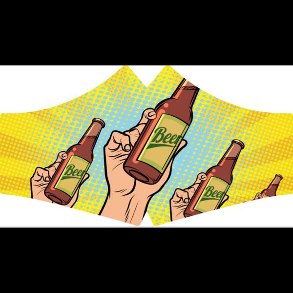 SANS Masque confort Bière aux élastiques