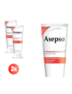 Asepso Asepso 100 ML disinfectant hand gel - set of 3