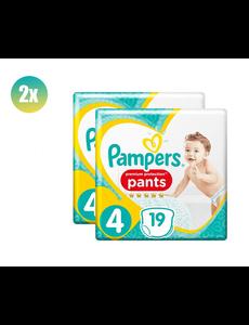 Pampers PAMPERS ACTIVE NAPPIES PANTS SIZE 4 19  set van 2