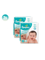 Pampers Procare Premium Protection Size 3 - set of 2