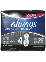 Always Always pads 9x ultra secure night with wings
