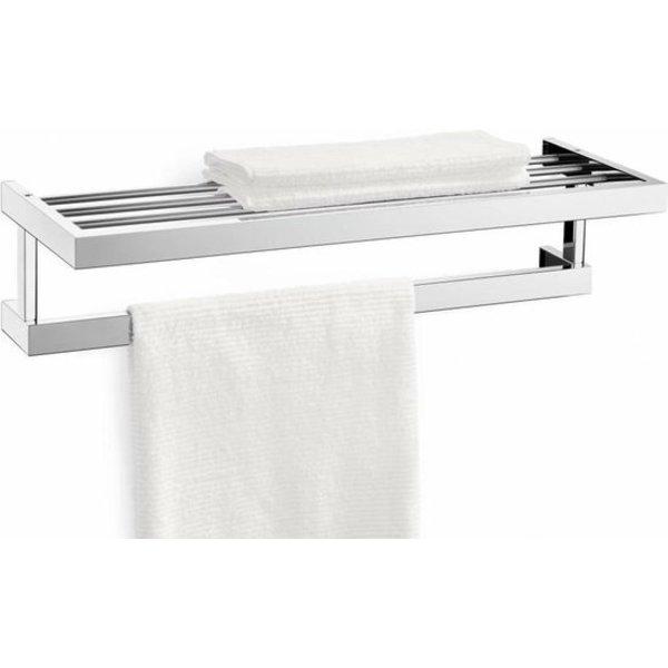 Zack Zack Linea towel rack mirror gloss