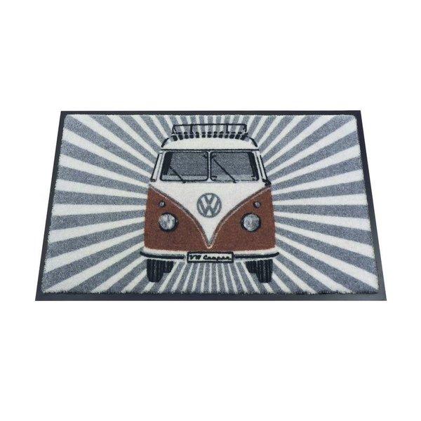 Brisa Brisa Deurmat Volkswagen T1 Samba Strips - Rood - 50 x 75 cm
