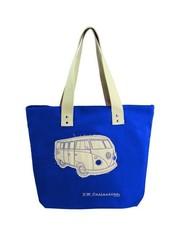 Brisa Brisa Volkswagen Shopper Tas Blauw