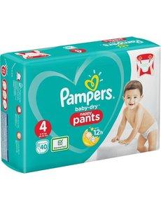 Pampers Pampers n°4 pants baby dry 40x box