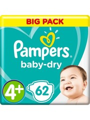 Pampers Pampers n°4+ baby dry 62x