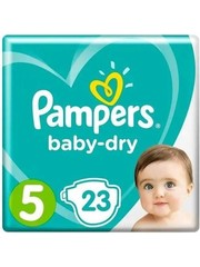 Pampers Pampers Baby Dry Diapers Size 5 Diapers 23 Pieces