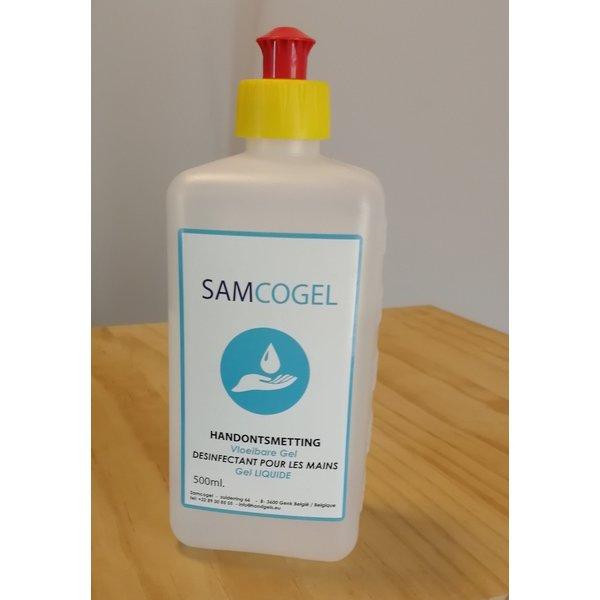 SAMCOGEL Liquid hand gel 80% 500 ml