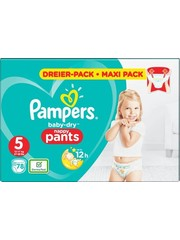 Pampers Pantalon Pampers nr5 Baby-Dry 78x