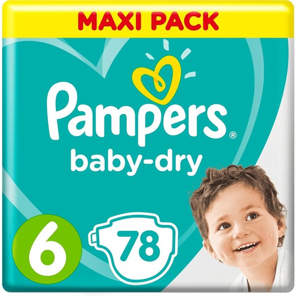 Pampers Pampers nr6 Baby-Dry 78x