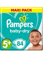 Pampers Pampers nr5+ Baby-dry 84x