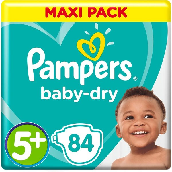 Pampers Pampers nr5 + Baby-dry 84x
