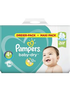 Pampers Pampers nr4+ Baby-Dry 94x
