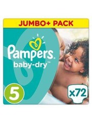Pampers Pampers nr5  Baby-Dry72x